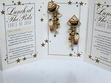 """Lunch at the Ritz """"Fresh Ground"""" Earrings"""