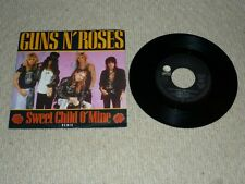 GUNS 'N' ROSES - SWEET CHILD O' MINE 7 INCH SINGLE VINYL RECORD 45rpm EXCELLENT