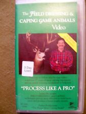 FIELD DRESSING AND CAPING GAME ANIMALS VIDEO (1993, OOP) MUST FOR ALL SPORTSMEN!