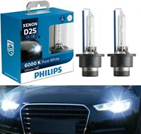 Philips Ultinon HID Xenon D2S 6000K White Two Bulbs Head Light Replacement Lamp