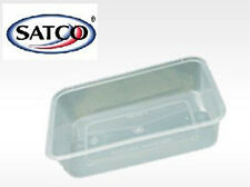 200 PCS OF SATCO MICROWAVE PLASTIC CONTAINERS 1000ML WITH SNAP ON LIDS