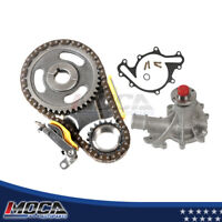Timing Chain Water Pump Kit for 97-03 Ford E150 E250 Econoline F150 4.2L OHV 12V
