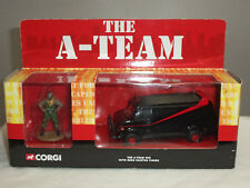 CORGI CC87502 THE A TEAM GMC DIECAST MODEL TRUCK VAN + BA BARACUS FIGURE