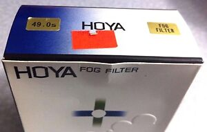 Brand New Hoya 49mm Fog Filter Set Fog A Fog B Made in Japan Fog (A&B) 49 mm