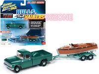 JOHNNY LIGHTNING 1965 International 1200 Pickup Truck Medium Turquoise JLSP071