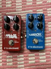 Tc Electronic Hall Of Fame Reverb Flashback Delay And Looper Bundle 2 Pedals