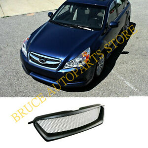 For Subaru Legacy 2010-12 Front Hood Bumper Sport Honeycomb Grill Grille j Refit