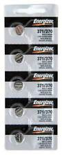 Energizer 371 370 SR920SW 1.55V Silver Oxide Battery BRAND NEW  Genuine 5 Pack