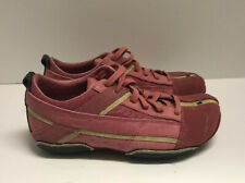 Diesel Kimura Fashion Sneakers Pink Suede Leather Lace Up Women's Size 6