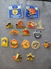 1980's Peter David NFL & MLB Logo Team Pins-NEW