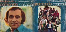 45 GIRI   ORCHESTRA SPETTACOLO CASADEI - GIRAMONDO // LA BALLATA DEL CAMIONISTA