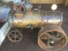 Early Victorian Scratch Built Traction Engine Museum Piece Spares Repair