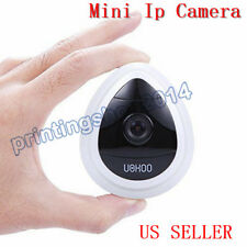 Mini UOKOO Wireless Security IP Camera 1280x720p HD Home Surveillance (White)