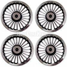 "8"" Golf Cart Wheel Covers Hub Caps EZGO, Club Car and Yamaha (Set of 4)"