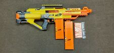 Nerf N-Strike Stampede ECS Auto Motorized Gun #09 -  2 Magazine Clips - Tested
