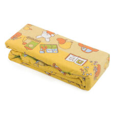 Flannelette Printed 100% Cotton Baby Cot Sheet