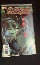 THE ORDER   #6  MARVEL COMICS BOOK FREE SHIPPING C4