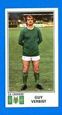 FOOTBALL 1976 BELGIO -Panini Figurina-Sticker n. 173 - VERBIST -LA LOUVIERE-Rec