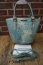 Authentic Brahmin Serendipity Melbourne Small Bowie Leather Satchel NWT $295