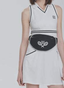 Vintage CHANEL Tennis Fanny Pack Crossbody Bag 1989