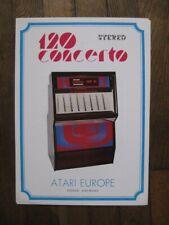 Juke Box Atari 120 Concerto flyer publicité