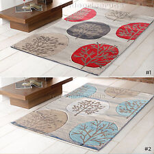 LARGE MODERN THICK BEIGE RUGS 120x170cm END OF LINE CLEARANCE LTD STOCK