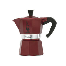 Bialetti Moka Red Emotion o Grey 3Tz Limited Edition Brillantinate Micro-Glitter