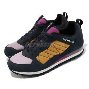 Merrell Alpine Sneaker Blue Yellow Purple Women Casual Lifestyle Shoes J001638