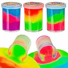 3 x Neon Schleim Bunt Spielzeug Kindergeburtstag Mitgebsel Slime Glibber in Dose