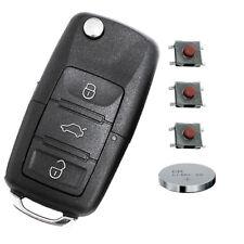 Set Repair 3 teclas plegable clave VW SEAT SKODA control remoto micro sonda