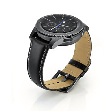 Samsung Gear S3 Classic/Frontier Strap,Sundaree Leather Replacement Straps Brace