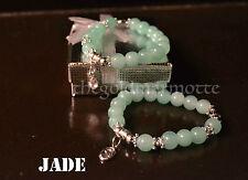 Elegant Jade Rosary Bracelet