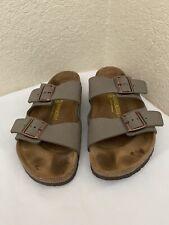 Birkenstock Arizona Taupe Birkoflor Slide Sandal Men Sz 43/ M10