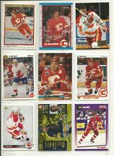 Lot of 40 Different Al MacInnis Hockey Card Collection Mint