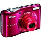 Nikon COOLPIX L32 20.1MP 720P HD Video w/ 5X Zoom Digital Camera (Red)