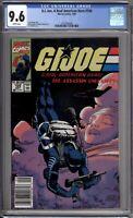 G.I. Joe A Real American Hero 104 CGC 9.6 NM+ Newsstand Marvel Comics 1990