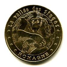 86 ROMAGNE La Vallée des Singes 3, Chimpanzé, 2006NV, Monnaie de Paris