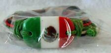 Mexico Flag Fashion Leather Bracelet Adjustable Pull Cords!