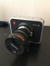Blackmagic Design Cinema Camera Camcorder -  Black (Body Only with MFT Mount)