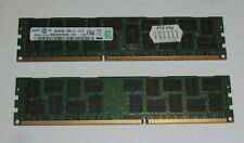 16 GB (2 x 8 GB) SAMSUNG DDR3 Registered ECC M393B1K70DH0-YK9 PC3L-10600R