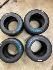 Go Kart Racing Maxxis Blue Tires