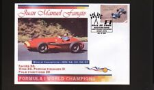 JUAN FANGIO FORMULA 1 WORLD CHAMPION SOUVENIR COVER