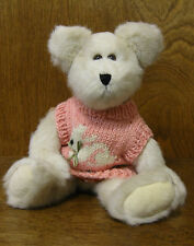 "Boyds Plush #916502 Libby B. Bunster 10"", NEW/Tag From Retail Store Jointed Bear"
