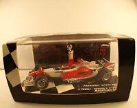 Minichamps Panasonic Toyota Racing TF105 Trulli Malaysian 2005 1/43