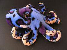 Plüschtier Krake 24 cm Kuscheltier Kraken Tintenfisch Stofftier lila blau neu