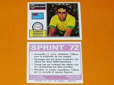 PANINI SPRINT 72 CYCLISME 1972 N°196 G. JOHNSON AUSTRALIA WIELRIJDER CICLISMO
