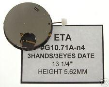 ETA G10.71A-n4 Movimento  Cronografo quarzo nuovo