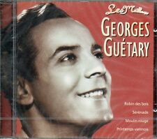 """NEUF CD ALBUM GEORGES GUETARY """" LES MEILLEURS """" 13 TITRES COMPILATI ON"""