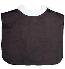 Morris Costumes Adult Unisex Cotton Tie Closure Clergy Collar Black White. BB152