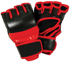Pro MMA Gloves Genuine Leather for Professional Fighter. No Tax, FAST SHIPPING